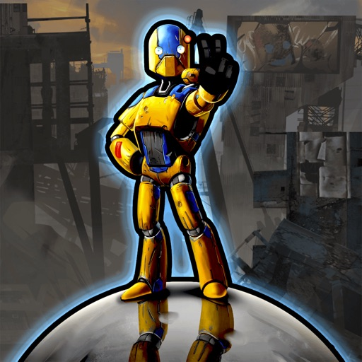 Robot Crusher Battle Ballz icon