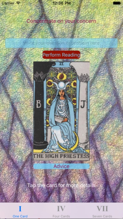 Tarot Card Reader Clear screenshot-0
