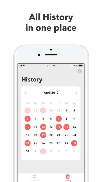 Blood Pressure Monitor app log screenshot-4