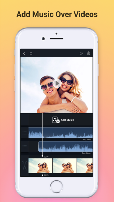 Add Music to Video Voice Over Screenshot