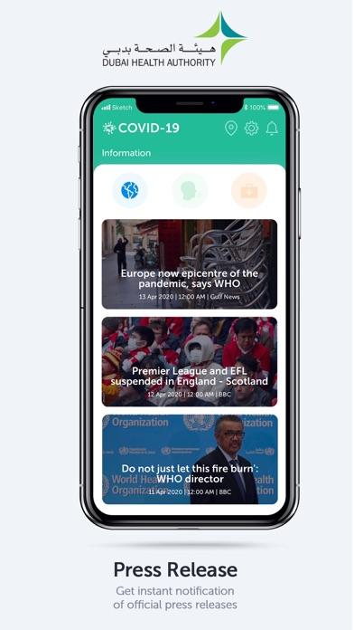 COVID19 - DXB Smart App