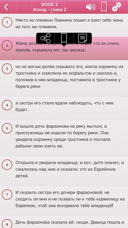 Russian Bible Audio mp3 Pro screenshot-4