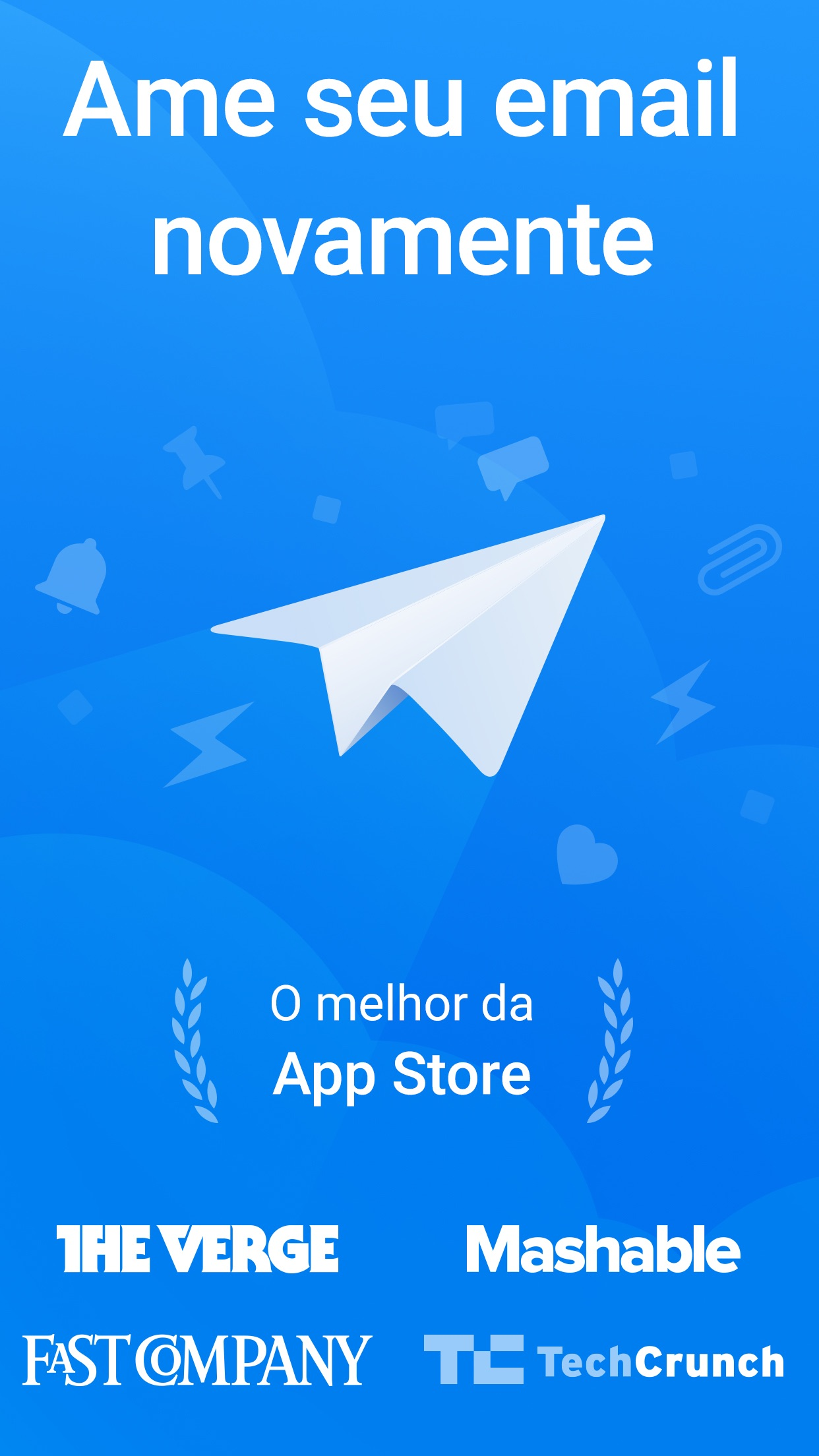 Screenshot do app Spark - Email App da Readdle
