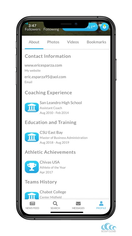 ScoutCloud: Athlete Highlights screenshot-7