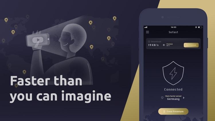 VPN sofast- unlimited best VPN