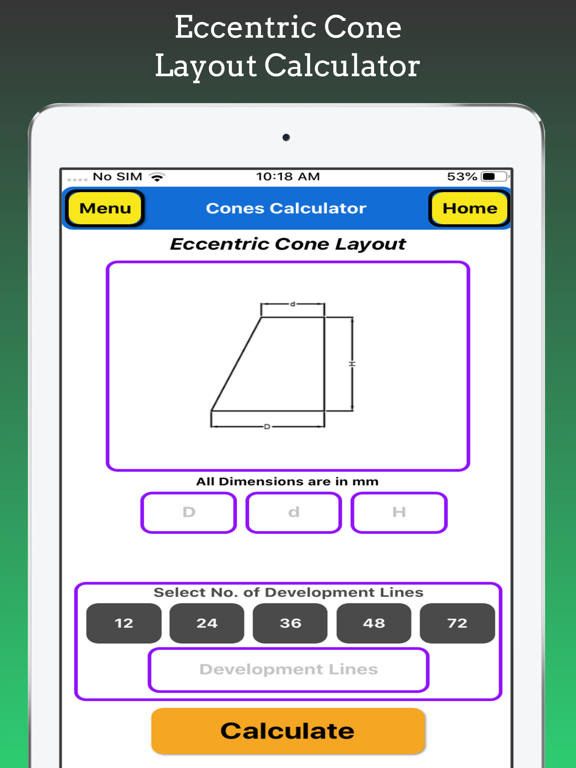 Cones Calculator screenshot 17
