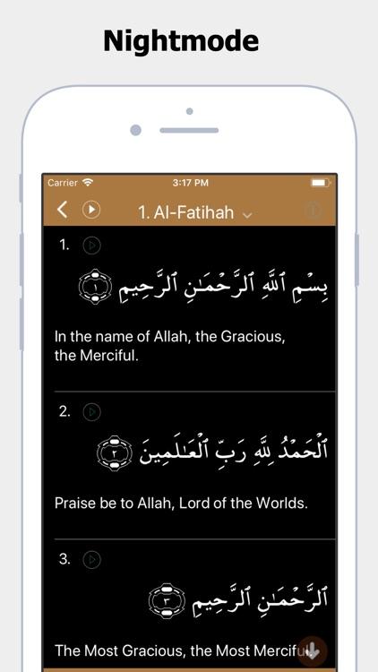 Al Quran App screenshot-5