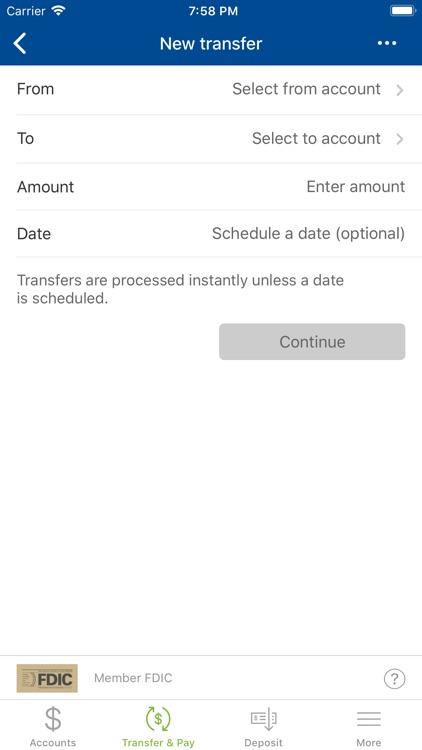 Simsbury Bank Mobile screenshot-4