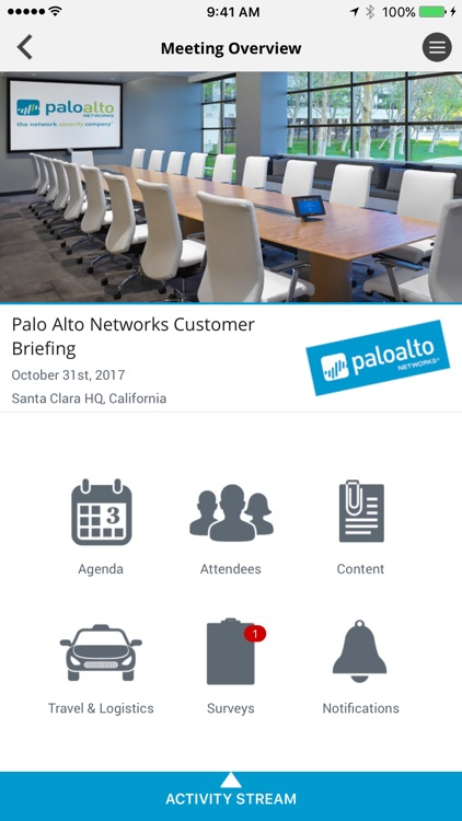Palo Alto Networks Connected by Design Reactor, Inc
