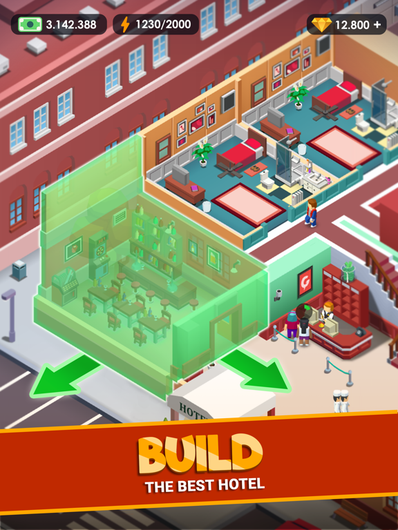 Hotel Empire Tycoon-Idle Game screenshot 10
