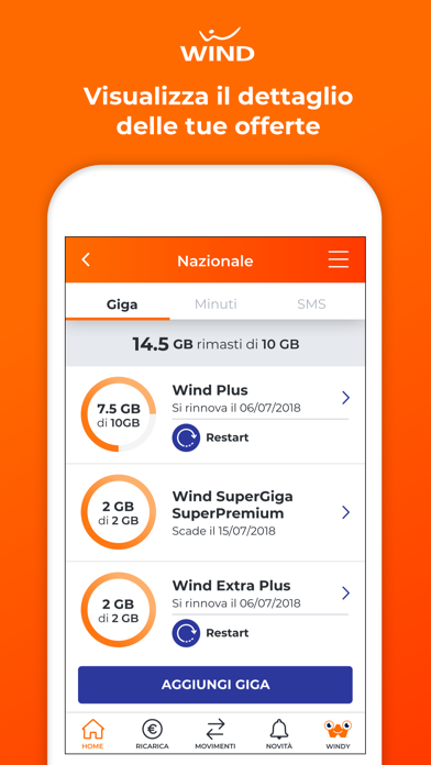 Download MyWind (App ufficiale Wind) per Pc