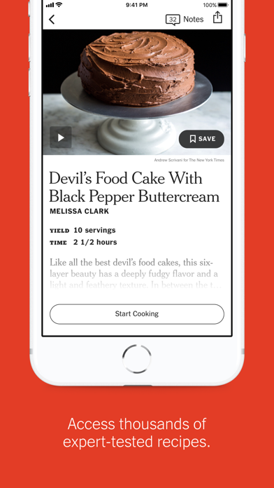 NYT Cooking screenshot1