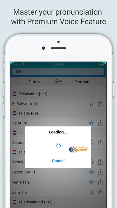 German Dutch Dictionary + screenshot 4