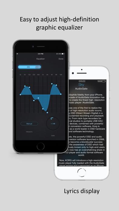 Screenshot #3 pour iAudioGate