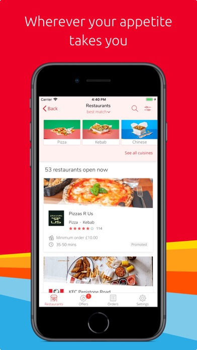 Just Eat - Food Delivery screenshot two