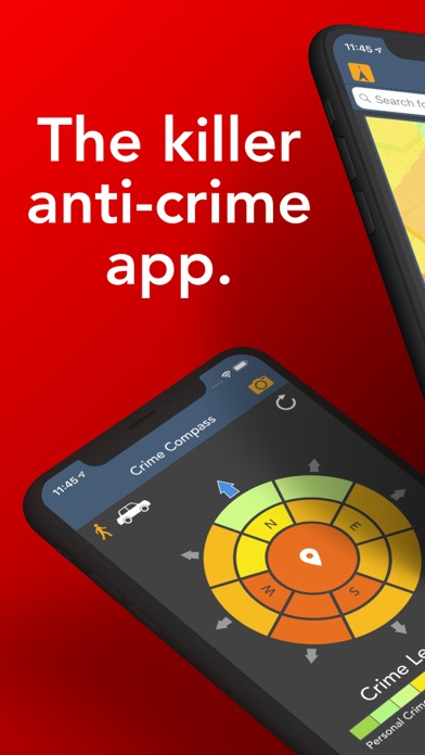 Crime and Place: The Crime App Screenshot