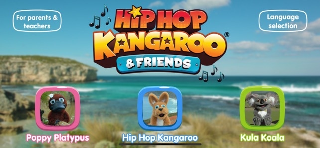 ‎Hip Hop Kangaroo & Friends Screenshot