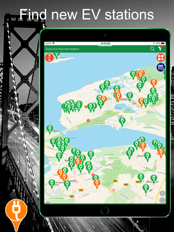 Next Charge EV - Find charge stations for electric vehicle screenshot