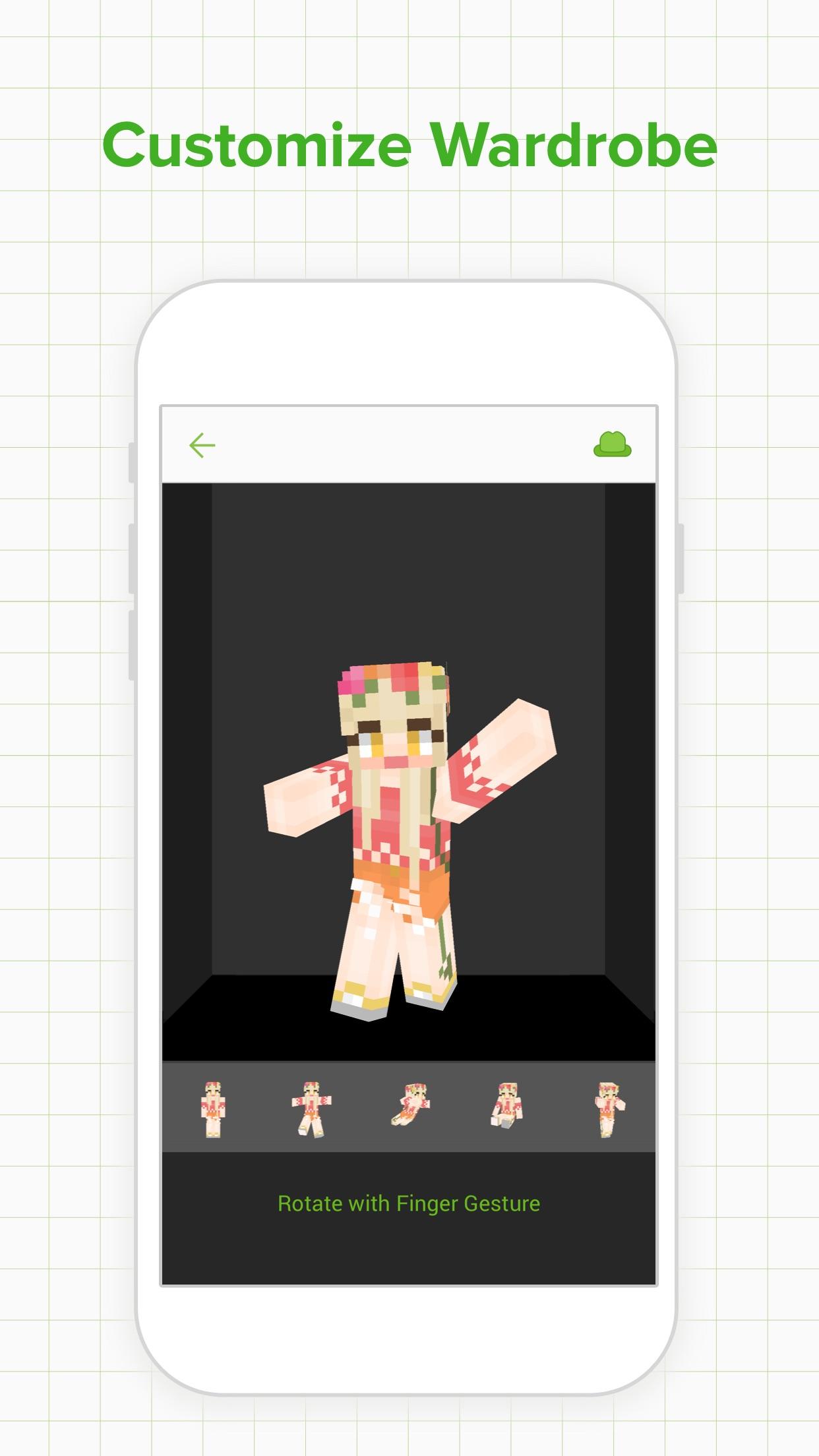 Skinseed for Minecraft Skins Screenshot