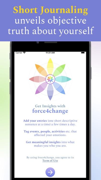 force4change – Tag Journaling screenshot-9