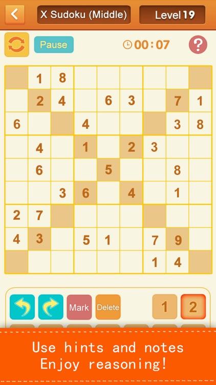Sudoku - number puzzles screenshot-3