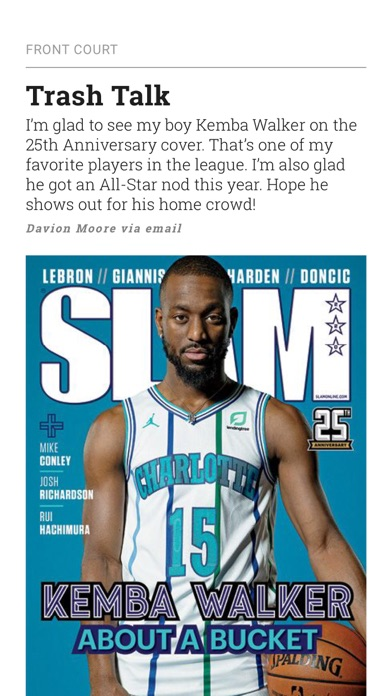 SLAM Magazine Screenshot