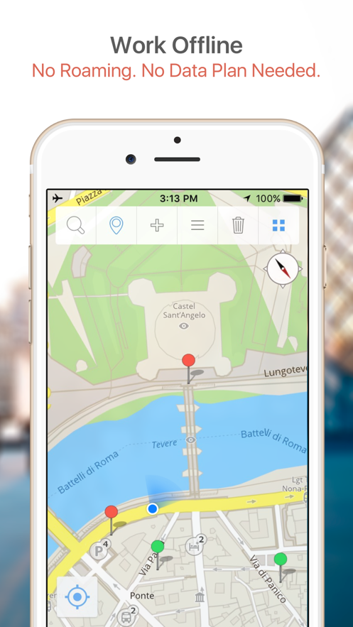 Stockholm Map & Walks (F) App 截图