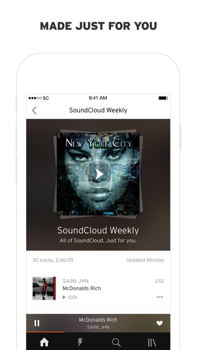 Screenshot for SoundCloud - Music & Audio in Romania App Store