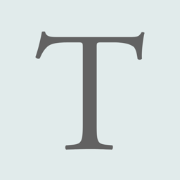 Ícone do app Typography Insight for iPhone