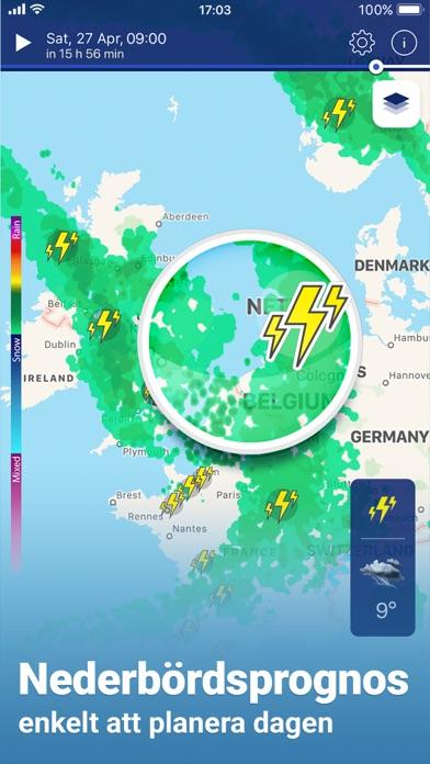 Väderradar - Väder & regnradar på PC