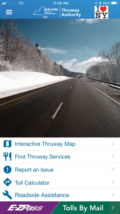 NYS Thruway Authority screenshot-0