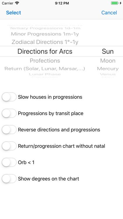 Astrological Charts screenshot-5