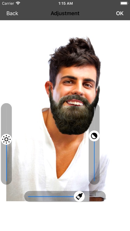 Men beard photo editor Mustach screenshot-2