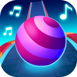Color Ball Race-Music Game