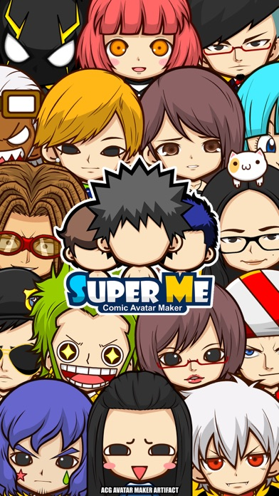 Screenshot #2 pour SuperMe-Cartoon Avatar Maker
