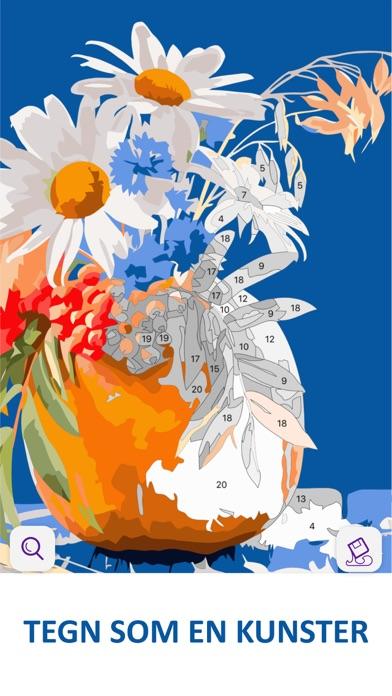 Screenshot for Oliemaleri: Mal-efter-tal in Denmark App Store