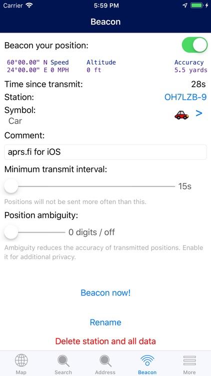 aprs.fi screenshot-5