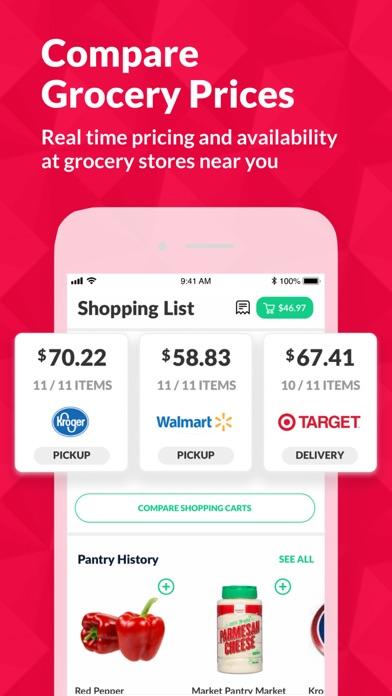 Cooklist: Grocery List Planner Screenshot