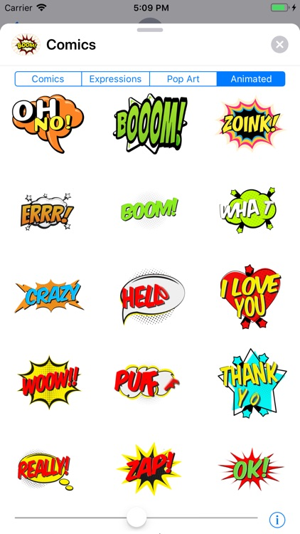 Comics Pop Art Sticker Effects screenshot-8