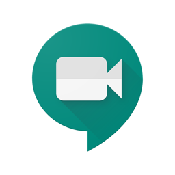 Ícone do app Hangouts Meet do Google