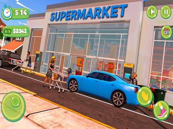 Supermarket Shopping Girl Game screenshot #3