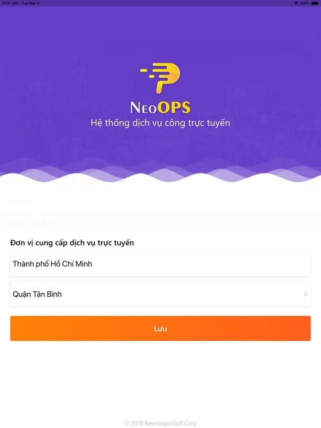 NeoOPS Cổng thông tin điện tử