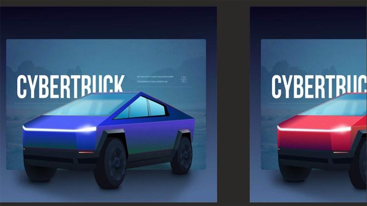CyberTruck - Augmented Reality