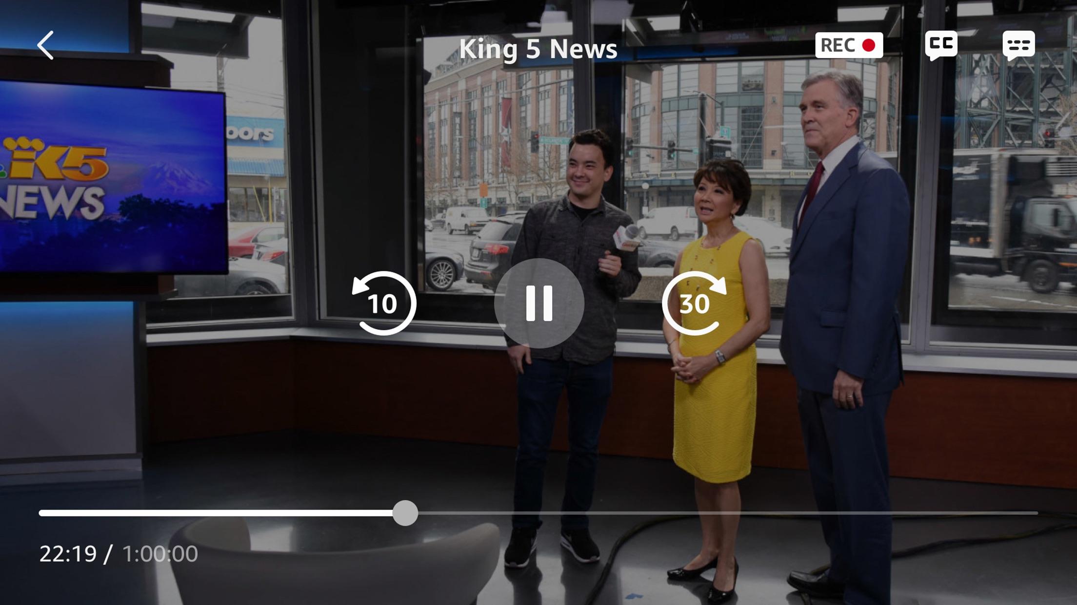 Screenshot do app Amazon Fire TV