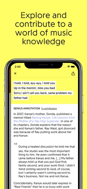 Genius: Song Lyrics & More on the App Store