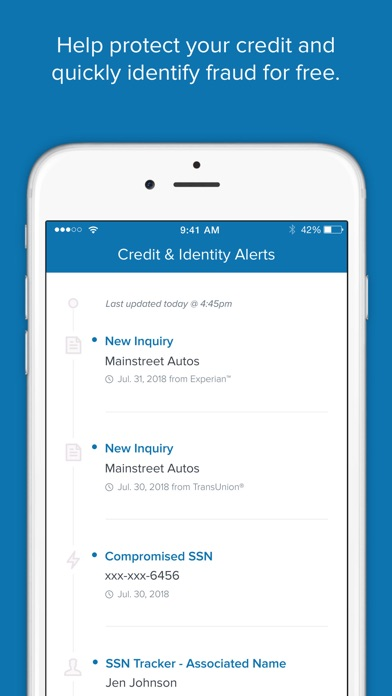 Screenshot for Capital One CreditWise in United States App Store