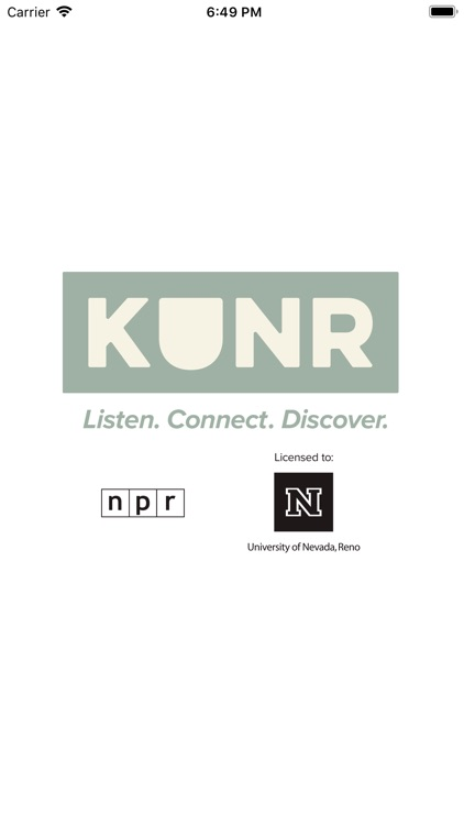 KUNR Public Radio screenshot-0