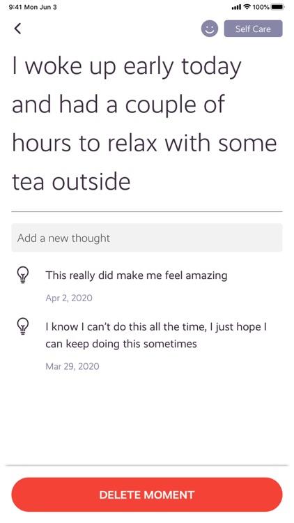 Moments - Daily Mindfulness screenshot-4