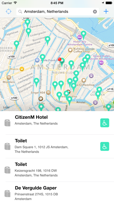 Flush - Toilet Finder & Map Screenshot
