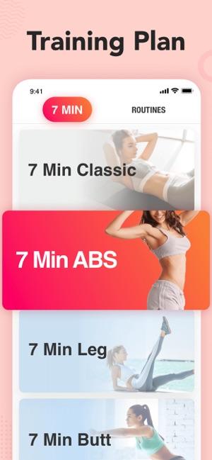 App para hacer ejercicio en casa para mujeres